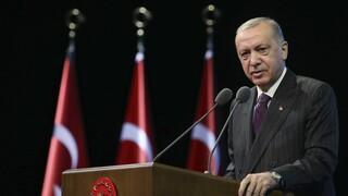Ερντογάν: Παρούσα η Τουρκία σε όλες τις περιοχές που υπάρχει σύρραξη