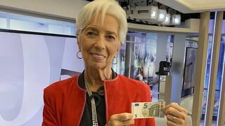 «Λίφτινγκ» στα χαρτονομίσματα των πέντε ευρώ