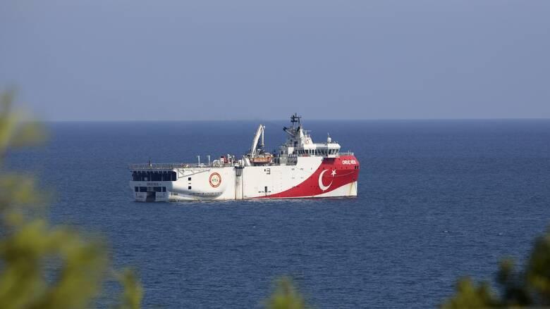 Oruc Reis: To τουρκικό ερευνητικό «έσπασε» τα 12 ναυτικά μίλια