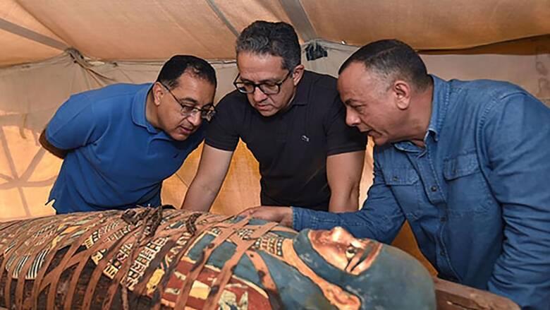 Νέο συναρπαστικό εύρημα στη νεκρόπολη της Σακκάρα: Στο «φως» δεκάδες σφραγισμένες σαρκοφάγοι
