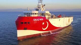 Oruc Reis: Μπήκε στα 12 μίλια - Ο Δένδιας ζητάει εμπάργκο όπλων και διακοπή τελωνειακής ένωσης