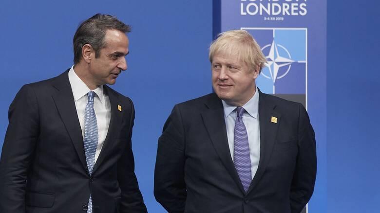 Επικοινωνία Μητσοτάκη - Τζόνσον: Στο επίκεντρο Brexit και τουρκική προκλητικότητα