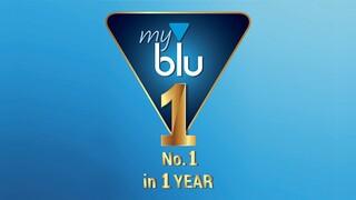 myblu: nο1 μέσα σε ένα χρόνο!