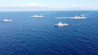 Oruc Reis: Σε πλήρη ετοιμότητα ο Στόλος στο Καστελόριζο - Φωτογραφίες ντοκουμέντο