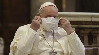 Βατικανό: Θετικό στον κορωνοϊό μέλος του προσωπικού που εργάζεται στην κατοικία του Πάπα