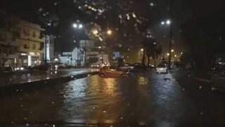 Κακοκαιρία: Πλημμύρισαν δρόμοι σε Ρέθυμνο και Ηράκλειο