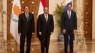 Στην Κύπρο ο Μητσοτάκης: Τριμερής Σύνοδος Κύπρου, Ελλάδας και Αιγύπτου