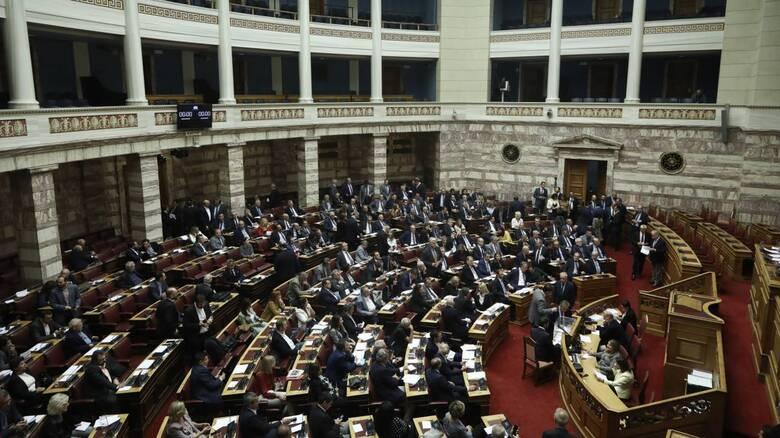Την άρση της ασυλίας Δ. Χατζηδάκη και Γ. Μελά αποφάσισε η Ολομέλεια της Βουλής