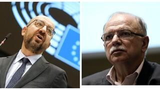 Παπαδημούλης κατά Μισέλ στην Ευρωβουλή: «Σταματήστε να χαϊδεύετε τον Ερντογάν»
