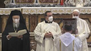 Βαρθολομαίος: Θερμή υποδοχή στη Ρώμη - Αναγορεύθηκε επίτιμος διδάκτορας