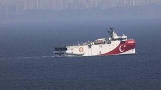 Oruc Reis: Επεκτείνεται έως 27 Οκτωβρίου η τουρκική Navtex
