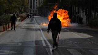 Εντάσεις στο μαθητικό συλλαλητήριο στο κέντρο της Αθήνας