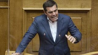 Live: Η ομιλία του Αλέξη Τσίπρα στη Βουλή για τον Πτωχευτικό Κώδικα