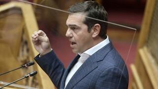 Βουλή: Πρόταση μομφής Τσίπρα κατά Σταϊκούρα για την άρση προστασίας της α' κατοικίας