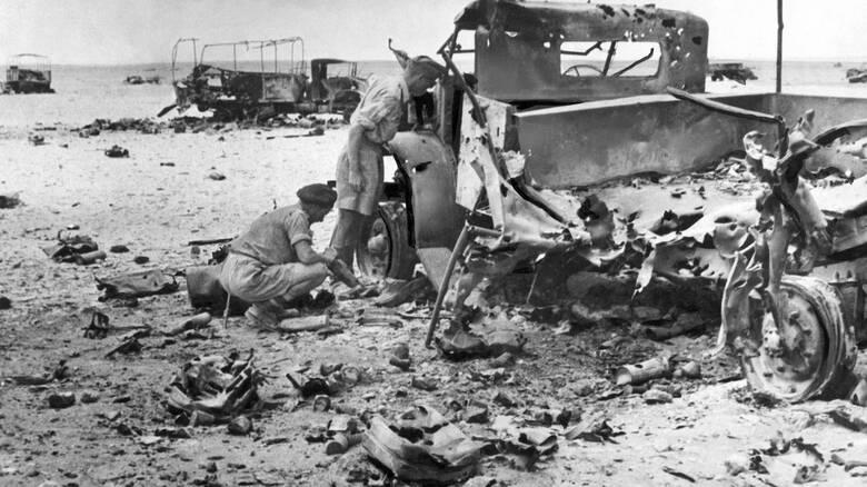 Ελ Αλαμέιν 78 χρόνια μετά: Η ιστορική μάχη μέσα από ένα σπάνιο ντοκουμέντο
