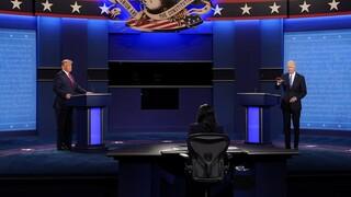 Εκλογές ΗΠΑ - Debate: Ανάληψη ευθύνης από τον Τραμπ για την αντιμετώπηση της πανδημίας