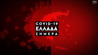 Κορωνοϊός: Η εξάπλωση του Covid 19 στην Ελλάδα με αριθμούς (23/10)