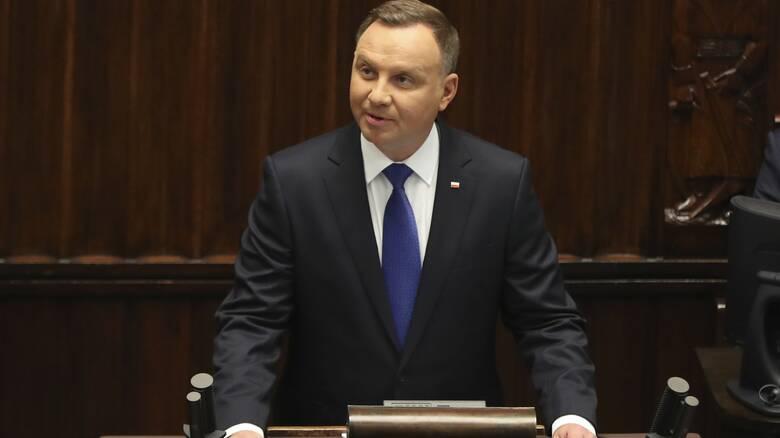 Κορωνοϊός - Πολωνία: Θετικός διαγνώστηκε ο πρόεδρος Ντούντα