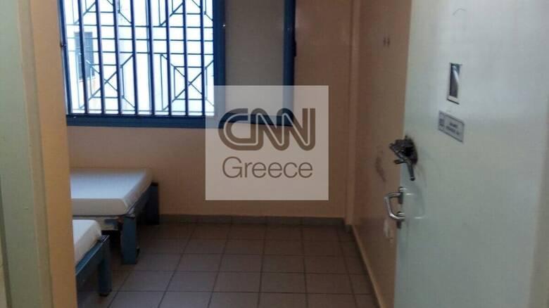 Χρυσή Αυγή: Σε αυτό το κελί κρατείται ο Μιχαλολιάκος