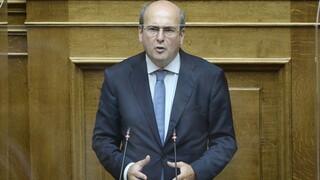 Χατζηδάκης για πρόταση δυσπιστίας: Η κυβέρνηση υλοποιεί τις προεκλογικές της δεσμεύσεις