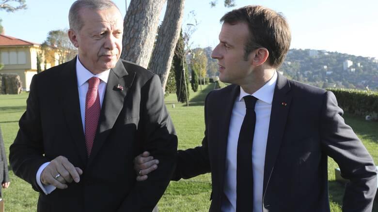 Αντίδραση Μακρόν στις ύβρεις Ερντογάν: Ανακαλείται ο πρέσβης της Γαλλίας στην Άγκυρα