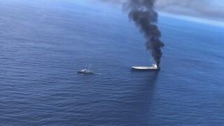 Έκρηξη σε ρωσικό τάνκερ – Τρεις αγνοούμενοι