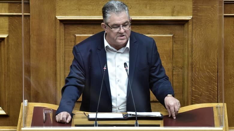 Πρόταση μομφής - Κουτσούμπας: Στρατηγική σύμπλευση ΝΔ - ΣΥΡΙΖΑ
