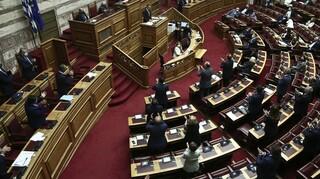 Πρόταση μομφής: Σε εξέλιξη η ψηφοφορία στη Βουλή