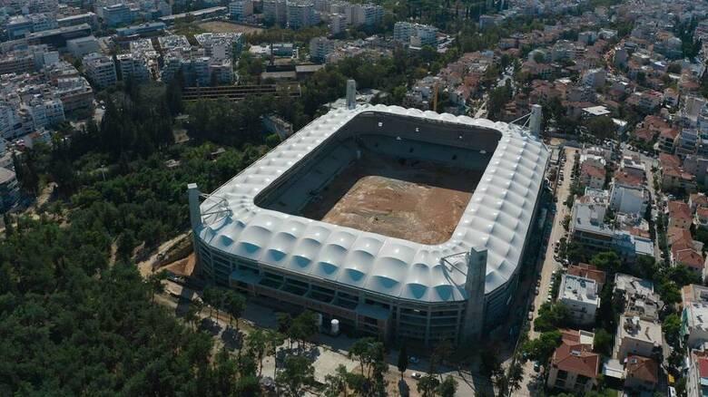 OPAP ARENA από ψηλά - Αποκλειστικά πλάνα από το νέο γήπεδο της ΑΕΚ