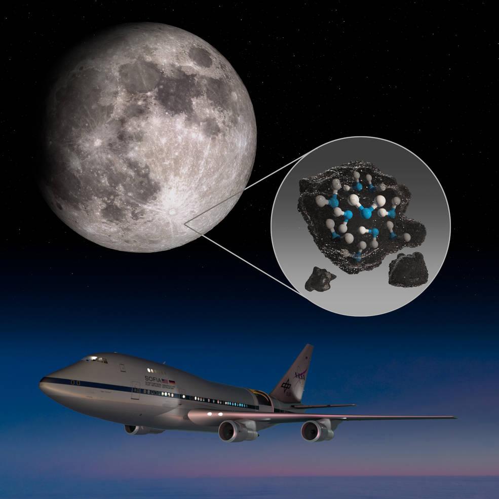 Σπουδαία ανακάλυψη της NASA: Ανιχνεύθηκε παγιδευμένο νερό στη Σελήνη