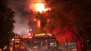 Μεγάλη φωτιά σε εστιατόριο στο Παλαιό Φάληρο