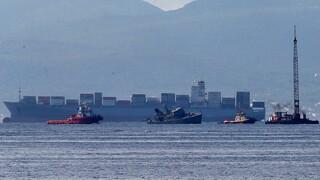Πειραιάς: Ναρκοθηρευτικό του Πολεμικού Ναυτικού συγκρούστηκε με πλοίο - Δύο τραυματίες