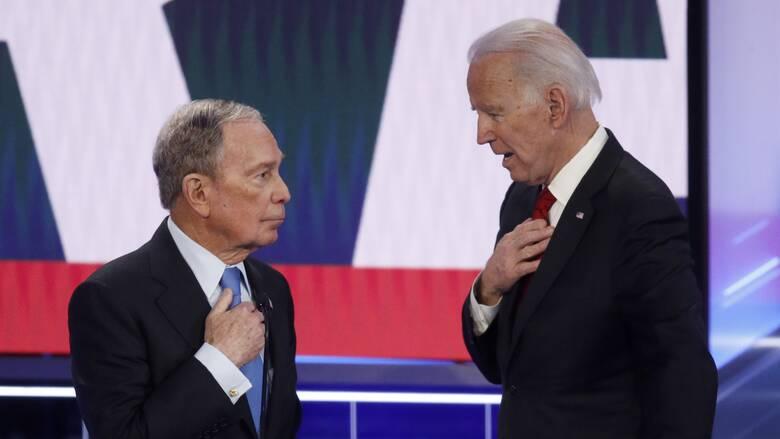 Εκλογές ΗΠΑ: Καμπάνια εκατομμυρίων δολαρίων υπέρ του Μπάιντεν από τον Μπλούμπεργκ