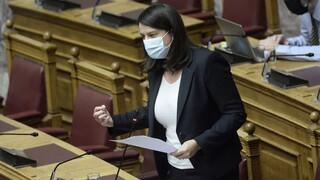 Κορωνοϊός: Τεστ στη Βουλή λόγω Κεραμέως - Ιχνηλατούνται οι επαφές της