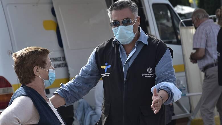 Κορωνοϊός – Δερμιτζάκης: Μπορεί να ζήσουμε σκηνές Ιταλίας με 5.000 και 6.000 κρούσματα ημερησίως