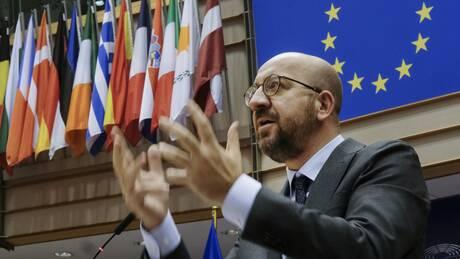 Ο Μισέλ προειδοποιεί: Η Ε.Ε. θα αξιολογήσει τη συμπεριφορά της Τουρκίας πριν το τέλος του έτους