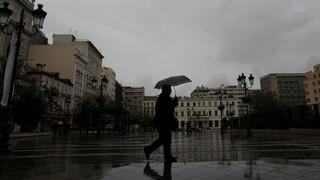 Κακοκαιρία «Κίρκη»: Έφτασε με ισχυρές βροχές και καταιγίδες - Σταδιακή επέκταση των φαινομένων