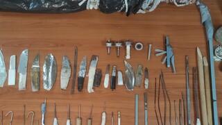 Φυλακές Τρικάλων: Ναρκωτικά, μαχαίρια και σουβλιά εντοπίστηκαν σε 40 κελιά