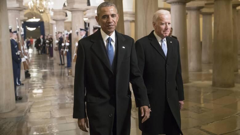Εκλογές ΗΠΑ: Κοινή εμφάνιση Ομπάμα και Μπάιντεν στο Μίσιγκαν