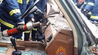 Τροχαίο δυστύχημα με ένα νεκρό στα Σίδερα Χαλανδρίου