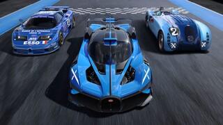 Αυτοκίνητο: H νέα βολίδα της Bugatti λέγεται Bolide και έχει τελική πάνω από 500 χλμ./ώρα