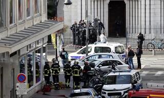 Τρόμος στη Νίκαια: Οι πρώτες εικόνες από το σημείο της επίθεσης