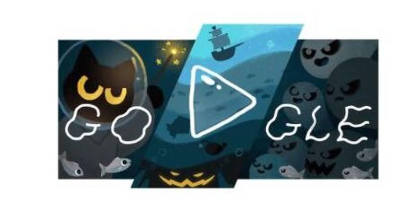 Halloween: H Google γιορτάζει με ένα doodle και παιχνίδι με… φαντάσματα