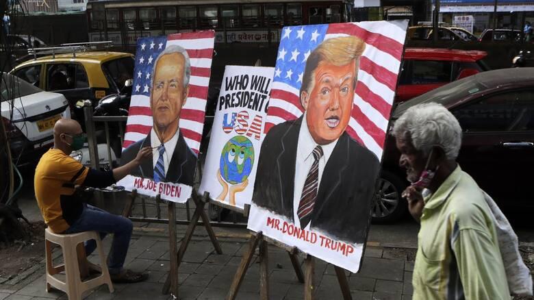 Εκλογές ΗΠΑ: Με διαφορετικό στιλ αλλά ίδια ένταση Τραμπ - Μπάιντεν λίγο πριν τον τερματισμό