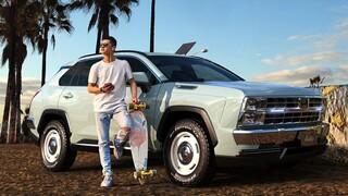 Το πιστεύετε πως πίσω από αυτό το ρετρό SUV κρύβεται το RAV4 της Toyota;
