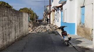 Σεισμός Σάμος: Δύο παιδιά καταπλακώθηκαν μετά από κατάρρευση τοίχου
