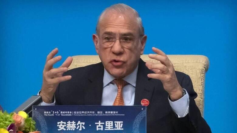 Στηρίζει την υποψηφιότητα Διαμαντοπούλου ο γενικός γραμματέας του ΟΟΣΑ Ανχέλ Γκουρία