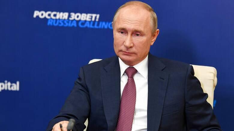 Τηλεγράφημα Πούτιν σε Μητσοτάκη μετά τον σεισμό στη Σάμο