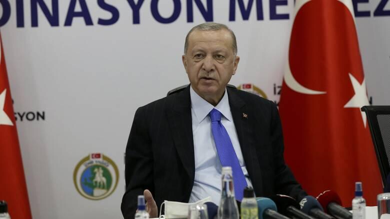 Επιμένει ο Ερντογάν: Συνεχίζουμε τις έρευνες στη Μεσόγειο
