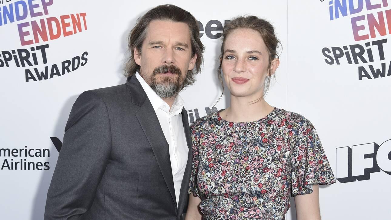 Ίθαν Χοκ: Συμπρωταγωνιστεί με την κόρη του Μάγια στην ταινία «Revolver»